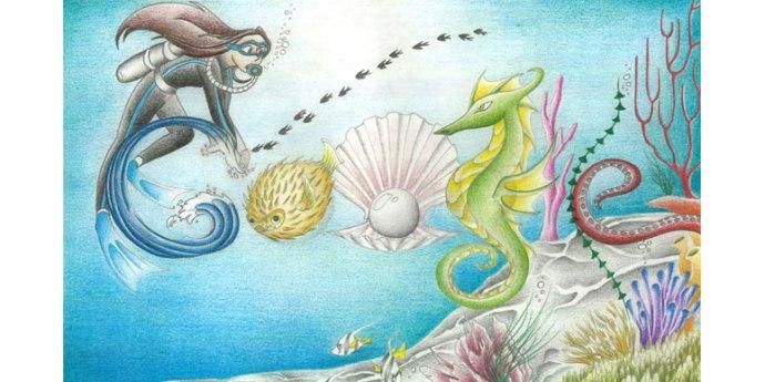 Diving Google Doodle